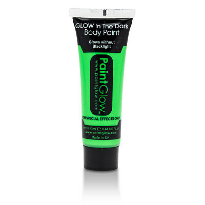 PAINTGLOW™ Glow in the Dark Face and Body Paint Intense Green Makeup