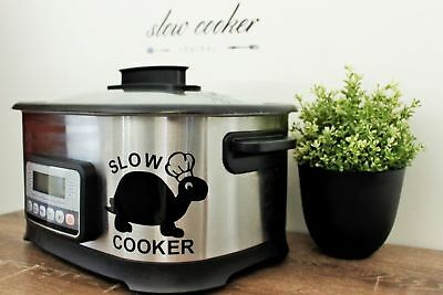 Slow Cooker (Crockpot) Decal - Turtle!