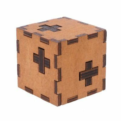 New Wood Switzerland Cube Wooden Secret Puzzle Box Toy Brain Teaser Toy For Kids