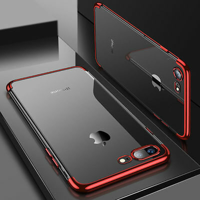 For Apple iPhone X Xs Max XR Cover Plating Shockproof 360 Hybrid Silicone Case