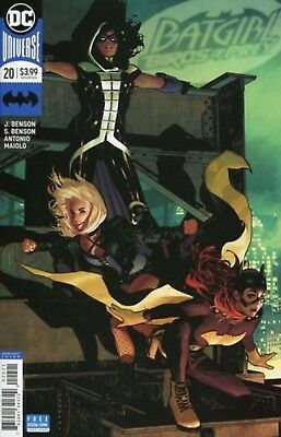 BATGIRL AND THE BIRDS OF PREY ISSUE 20 variant (spine lines) COMIC