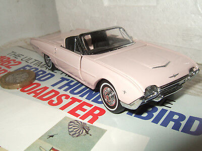 Ford Usa Thunderbird Sport Roadster 1962 Ragoon GENUINE-FORD-PARTS 1:43 GPF520 M
