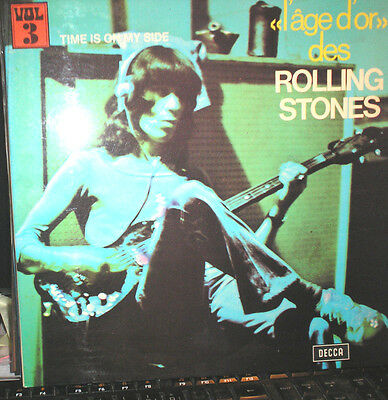Rolling Stones - Time is on my side - l'age d'or 3 - LP von 1970 - mit Booklet