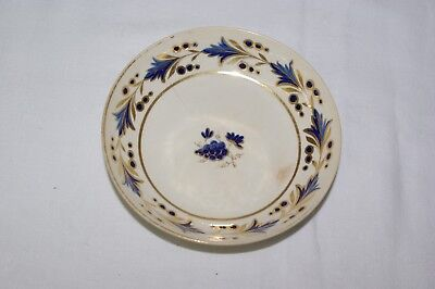 "Antique Early Derby Porcelain Imari 5.5"" Saucer Pattern 28 Painted Mark c1790"