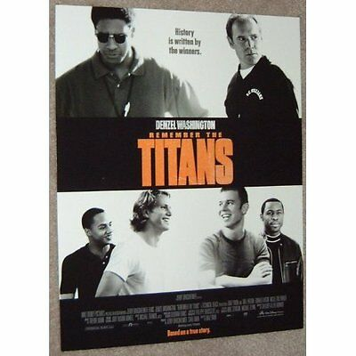 Remember The Titans movie poster print # 5 - American Football