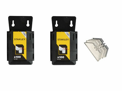 Stanley H/D Stanley Knife Blades Pk100 Twin Pack - 24478885