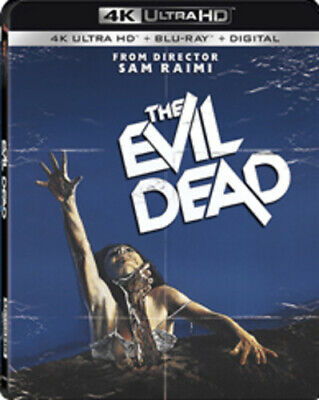 The Evil Dead [New 4K Ultra HD] With Blu-Ray, 4K Mastering, Digital Copy, Subt