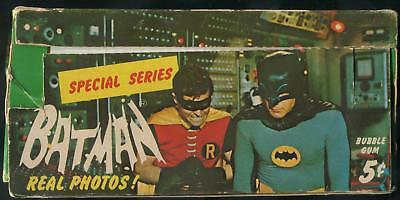 1966 Topps Batman Special Series Riddler Back 5-Cent Display Box