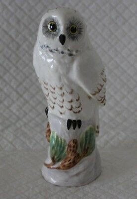 Crown Staffordshire Linley Adams Small Snowy Owl Bird Figure