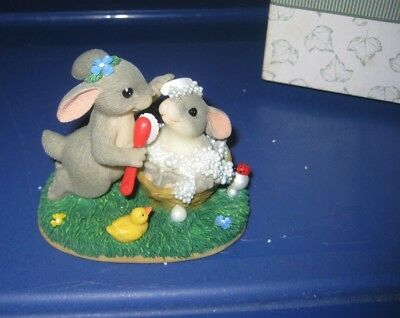 Charming Tails by Fitz & Floyd - Wash Away Those Worries 89/111 - Bunnies