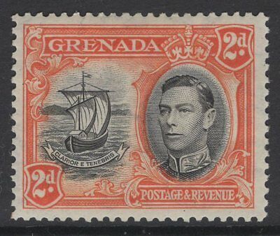 GRENADA SG156 1938 2d BLACK & ORANGE p12½ MTD MINT