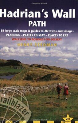 Hadrian's Wall Path (British Walking Guides) by Henry Stedman Paperback Book The