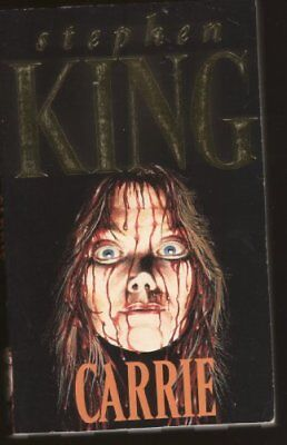 Carrie by King, Stephen Paperback Book The Cheap Fast Free Post
