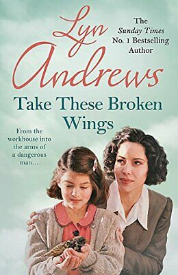 Take these Broken Wings: Can she escape her tragic past? by Andrews, Lyn Book