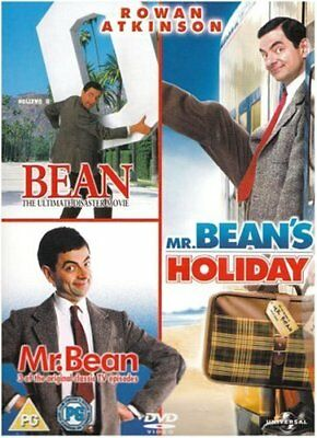 Mr Bean: Triple DVD Box Set - DVD  UILN The Cheap Fast Free Post