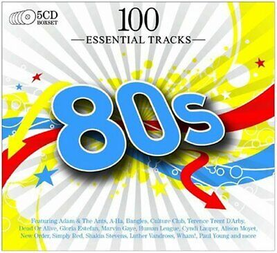 Various - 100 Essential Hits of the 80s - Various CD 3UVG The Cheap Fast Free