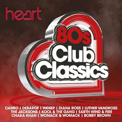 Various Artists - Heart 80s Club Classics - Various Artists CD ASVG The Cheap