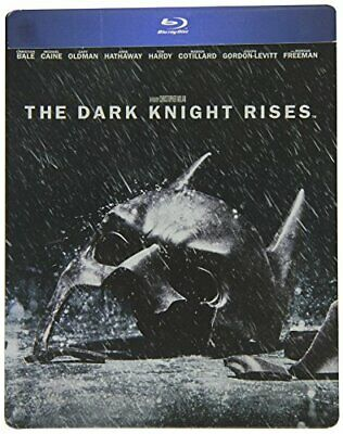The Dark Knight Rises (Steelbook) [Blu-ray] [2012] - DVD  XCVG The Cheap Fast