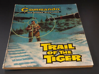 Commando War Comic Number 733!,1973 Issue,very Good For Age,45 Years Old,v Rare.
