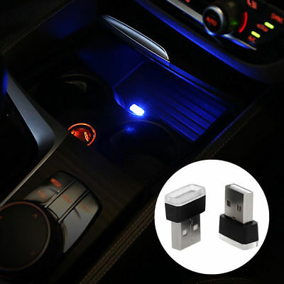 Five-Color Mini USB LED Car Interior Light Neon Atmosphere Ambient Lamp New