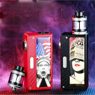 100W Electronic Cigarettes Big Breath E Pen Kit Starter Cigarette Tank Vape