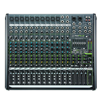Mackie ProFX16v2 16-Channel 4-Bus Effects Mixer with USB New