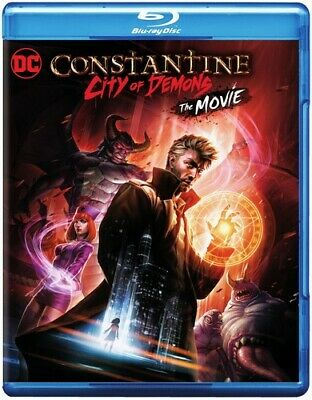 Constantine: City Of Demons - The Movie [New Blu-ray] With DVD, 2 Pack, Digita