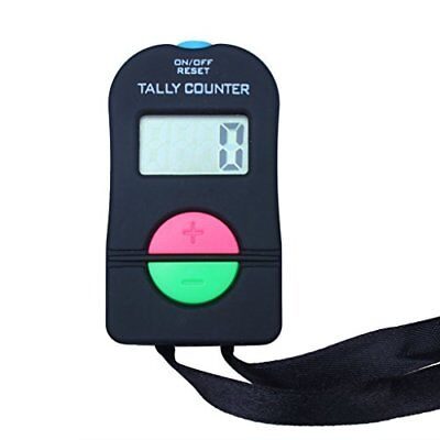 Digital Hand Tally Counter Electronic Manual Clicker Add/subtract Model For Golf