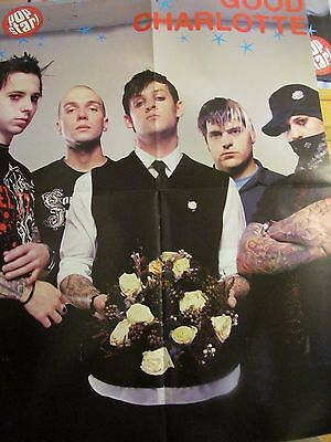 Good Charlotte, Usher, Double Four Page Foldout Poster
