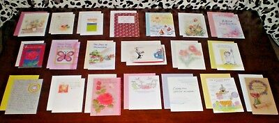 LOT OF 20 NICE QUALITY CARDS MIXED THEME GREETING CARDS NEW with Envelopes #7