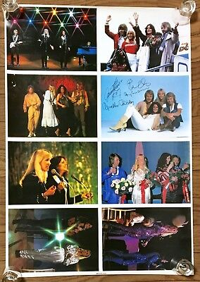 Abba Japan Vintage Promo B2 Poster  Discomate Records