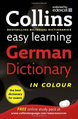 Easy Learning German Dictionary (Collins Easy Learning Ger by Collins 0007331509