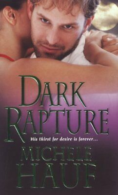 Dark Rapture by Michele Hauf Paperback Book The Cheap Fast Free Post