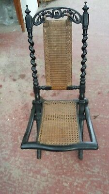 Late 19th century Folding Chair