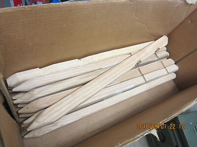 Wood Tent Stake Wooden Us Military Heavy Duty 2 Ft 24 Inch Mil P 2383 4 Stakes