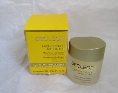 Decleor Aromessence Mandarine Smoothing Night Balm 15ml - New in box