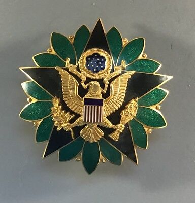 Original 1950's Army Chief of Staff General Staff Badge 3 inch size