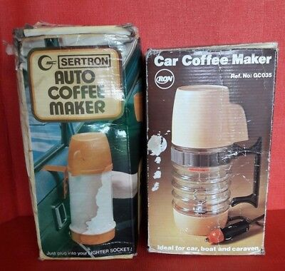 Vintage Auto Coffee Maker & Car Coffee Maker