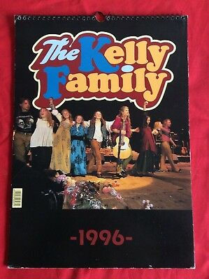 The Kelly Family - KALENDER 1996 - Kathy Angelo Patricia Paddy Jimmy Barby