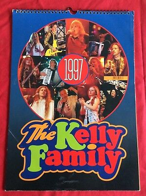 The Kelly Family - KALENDER 1997 - Angelo Maite Paddy Barby Joey Jimmy Patricia