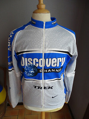 Cycliste Cyclisme Nike T Maillot Discovery Channel No xl Veste AUwq1nxqaF