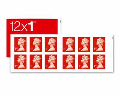 6 - 1200 1ST CLASS ROYAL MAIL RED STAMP - FROM 53p PER STAMP GENUINE VERIFIED