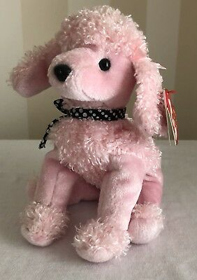 *with Tags Excellent Condition 2000 Ty Beanie Baby Brigitte The Pink Poodle
