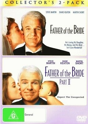 Father of the Bride / Father of the Bride: Part II = NEW DVD R4