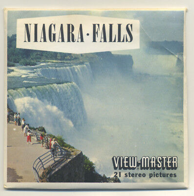 NIAGARA FALLS Sawyers 1960's View-Master Packet A-655 MINT Condition
