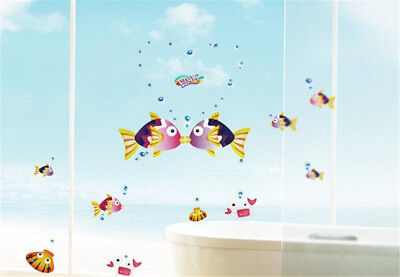 Cartoon Kiss Fish Home Room Decor Removable Wall Stickers Decal Decorations 1f40d98f973f