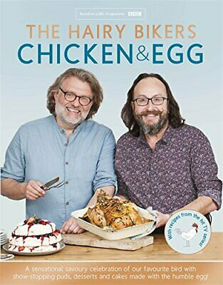 The Hairy Bikers' Chicken & Egg by Bikers, Hairy Book The Cheap Fast Free Post