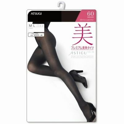 ATSUGI ASTIGU Pantyhose Stockings Tights 美 60D Beauty M-LL Made in Japan F/S