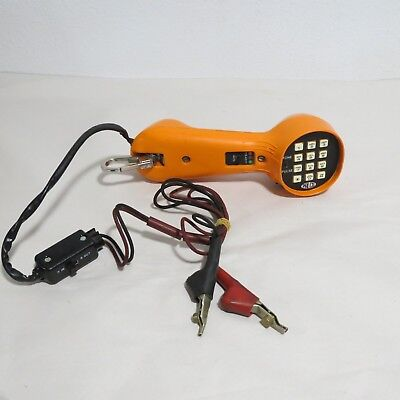 Palco Lineman's Test Phone Handset Butt Set Orange