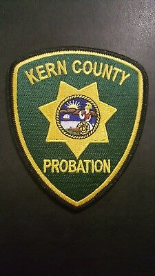 Kern County Probation California CA Police Patch Green